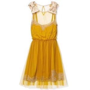 SALE🌈Rodarte for Target Mustard Yellow Slip Dress